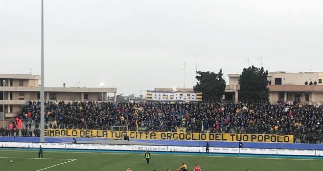 Serie D/H, dati spettatori: top a Cerignola, solo 3 gare oltre i mille