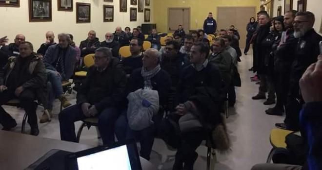 I presenti ieri a Viggiano