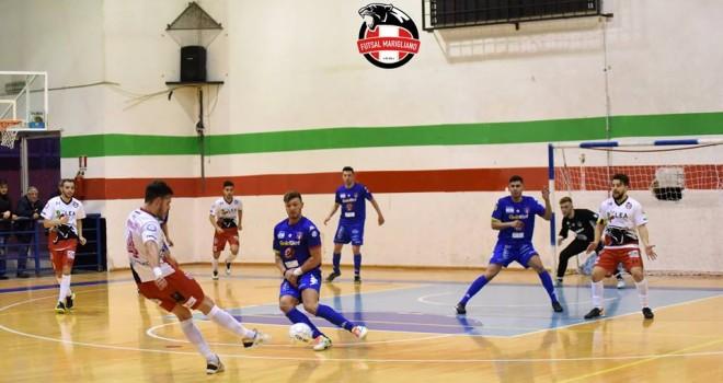 Calcio a 5/B. Pareggio del Marigliano, la Sandro Abate allunga