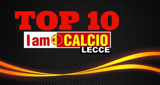 Top Ten di Gennaio: vola il Lecce, sul podio Gallipoli e Nardò