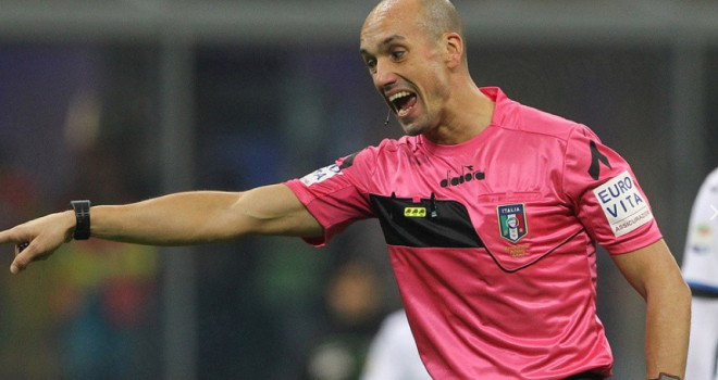 Genoa-Inter, arbitra Fabbri