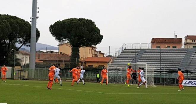 Pistoiese-Giana Erminio 1-1, il tabellino