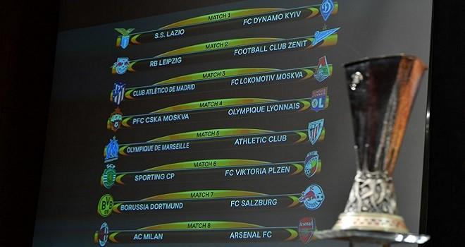 UEL, Ottavi di finale: Lazio-Dinamo Kiev e Milan-Arsenal. I precedenti