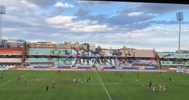 Catania-Cosenza: le formazioni ufficiali del match