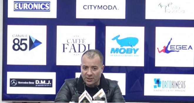 """Lecce. Sticchi Damiani: """"Daremo battaglia a tutti fino alla fine"""""""