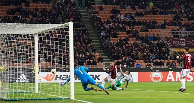 Milan-Ludogorets 1-0, il tabellino