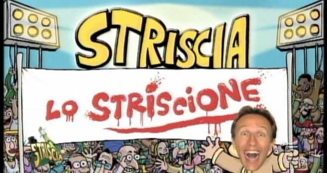 """VIDEO - """"Striscia lo striscione"""" arriva a Biella con Militello"""