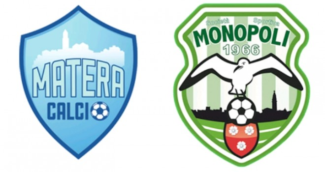 Gli highlights di Matera-Monopoli 1-1