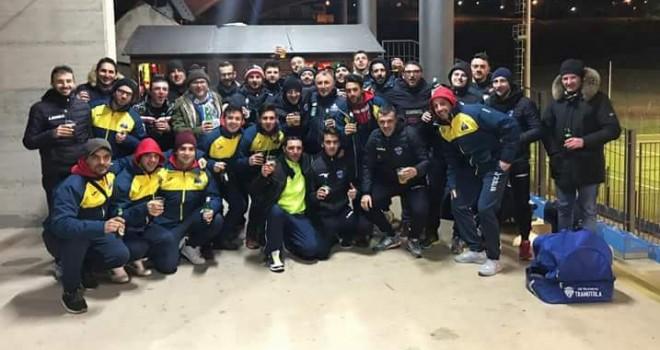 Raf Vejanum-Tramutola, terzo tempo dopo lo spettacolare 2-2 nel derby