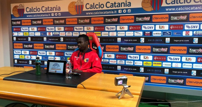 "Manneh: ""Sono felice per il gol che ho fatto"""