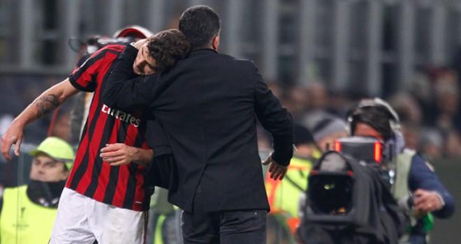 """Milan-Ludogorets 1-0, Gattuso: """"Allenare il Milan è bello e faticoso"""""""