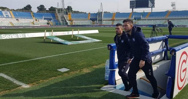 Pescara-Bari: le formazioni ufficiali. Torna Galano