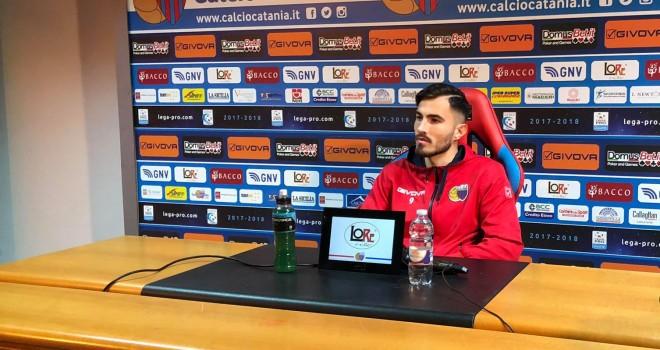 """Barisic: """"Catania grande opportunità, voglio vincere"""""""