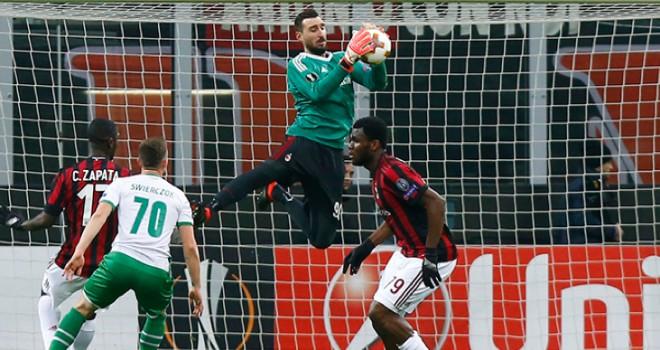 """Milan-Ludogorets 1-0, Antonio Donnarumma: """"Dedica? Alla mia famiglia"""""""