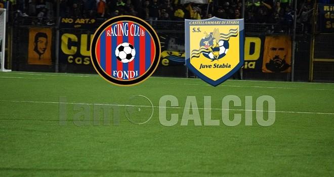 Racing Fondi-Juve Stabia, le formazioni ufficiali