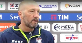 """Crotone, Zenga: """"Napoli? Gara tosta ma noi siamo più motivati di loro"""""""
