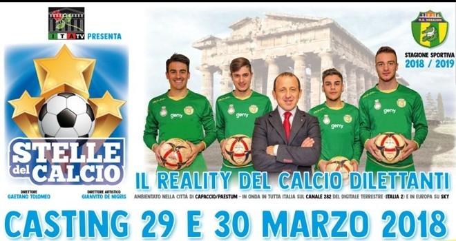 """""""Stelle del Calcio"""", il reality sul calcio prende vita: casting al via"""