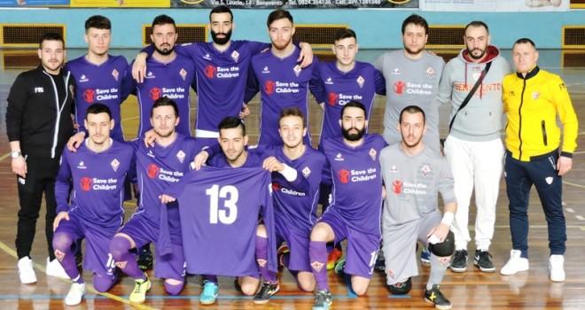 Il Benevento5 in maglia Fiorentina