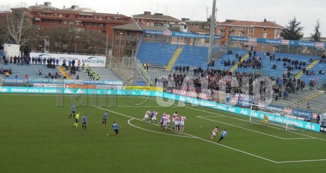 Novara-Palermo 2-2, Sciaudone regala un punto d'oro agli azzurri