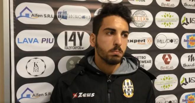 """Nola, Colonna: """"Cervinara grande squadra, a noi è mancato solo il gol"""""""