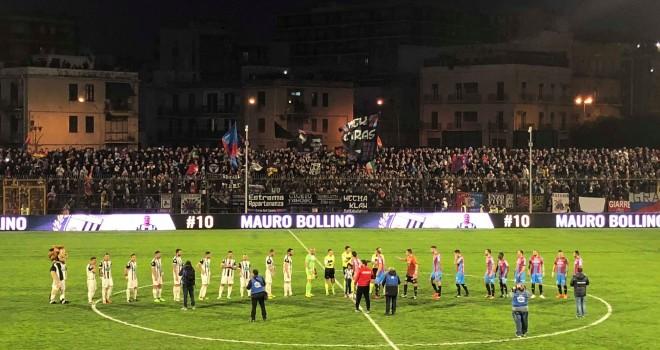 S.Leonzio - Catania 0-0, le due squadre non vanno oltre il pareggio