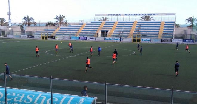Miramare, Mancano dirige gli allenamenti