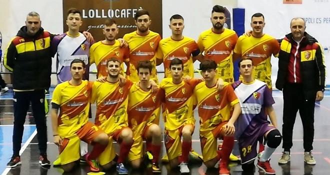 Benevento5. Juniores finalista di Coppa Campania contro il Pomigliano