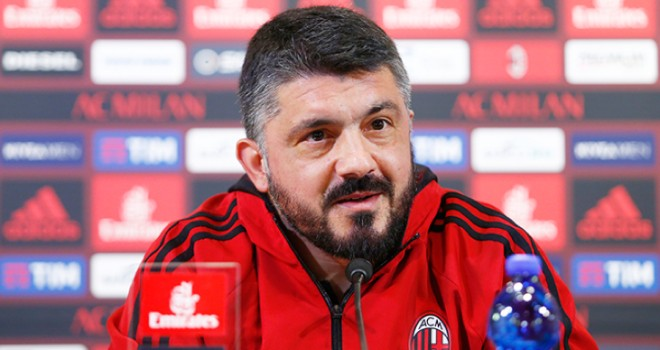 """VIDEO - Milan. Gattuso: """"Con il Benevento importante l'approccio"""""""