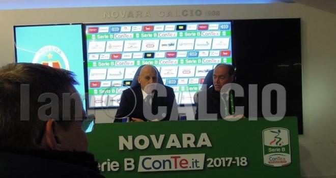"""Novara-Palermo 2-2, Di Carlo: """"Questo Novara mi piace sempre di più"""""""