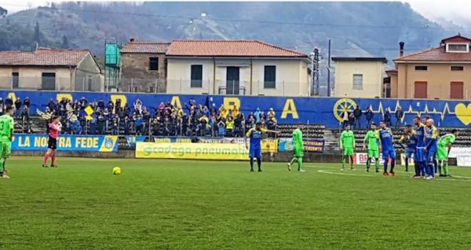 Carrarese-Giana Erminio 2-2, il tabellino