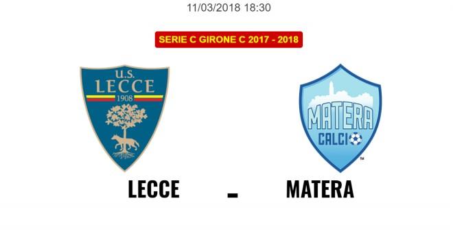 Lecce-Matera, formazioni ufficiali