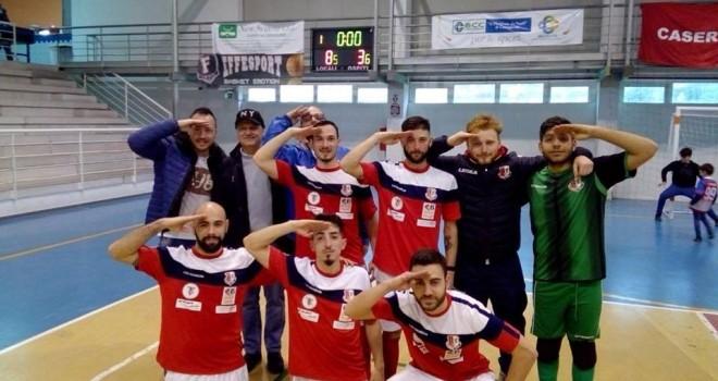 Calcio a 5. Obbiettivo raggiunto per il Caserta Futsal