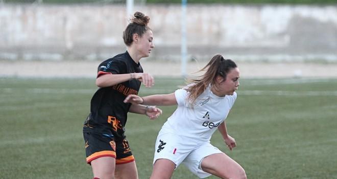 Coppa Italia, Res Roma – Pink Bari 0-2, impresa delle biancorosse