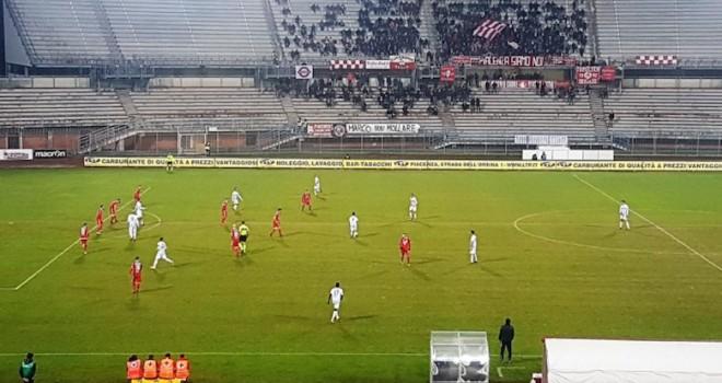 Giana Erminio, 2 punti persi a Piacenza