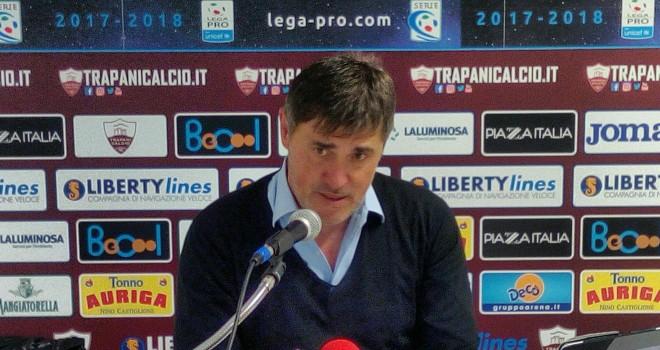 Le parole d' addio del tecnico Alessandro Calori