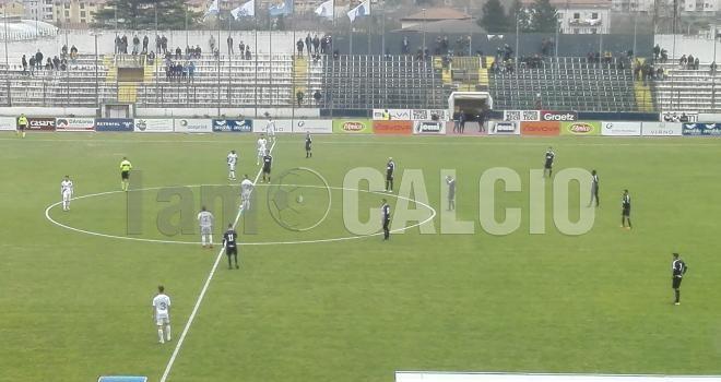 "Girardi trascina la Cavese: Gravina k.o. al ""Lamberti"""