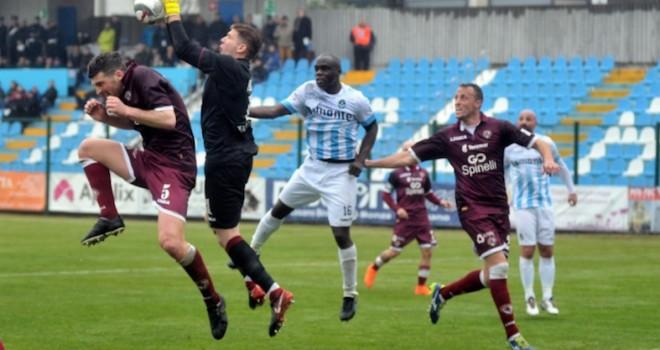 Giana Erminio-Livorno 0-2, il tabellino