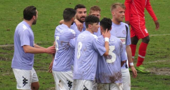 Saronno-Legnano 0-6, trionfo lilla