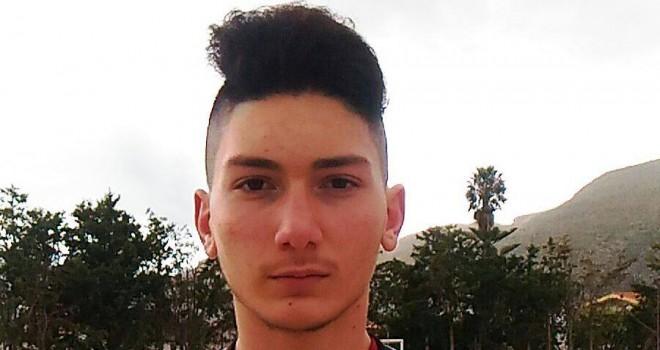 Francesco Mistretta del Città di Trapani al Torneo delle Regioni