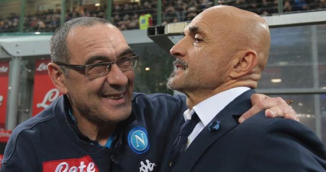 Maurizio Sarri e Luciano Spalletti