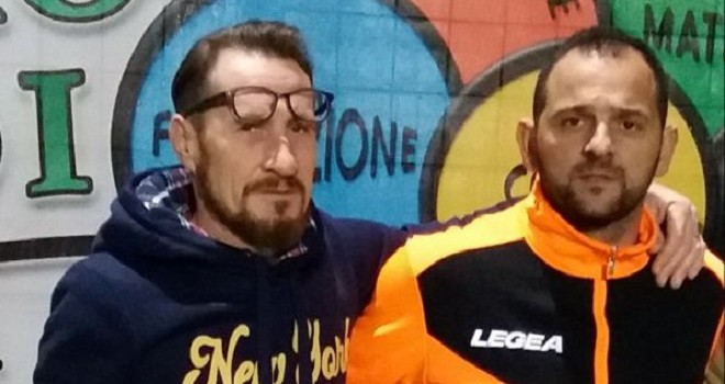 Mr Merolillo e il collaboratore Nacca