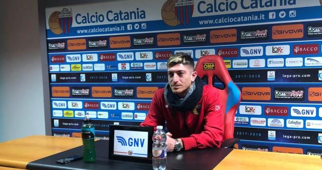 Catania: Mazzarani verso la Salernitana
