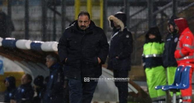 """Bisceglie, mister Mancini: """"Abbiamo concesso troppo spazio al Matera"""""""