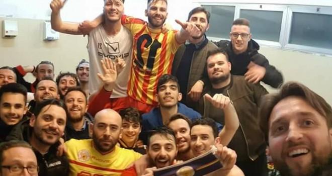 Il selfie-vittoria dei Sanniti F.S.