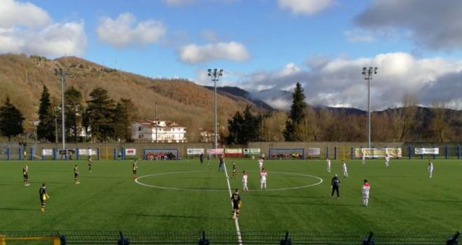 Il Valdiano rimonta il Castel S.Giorgio ma sfuma l'obiettivo playoff