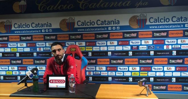 """Catania,Lodi:""""Duro colpo, ma l'obiettivo rimane la B"""""""