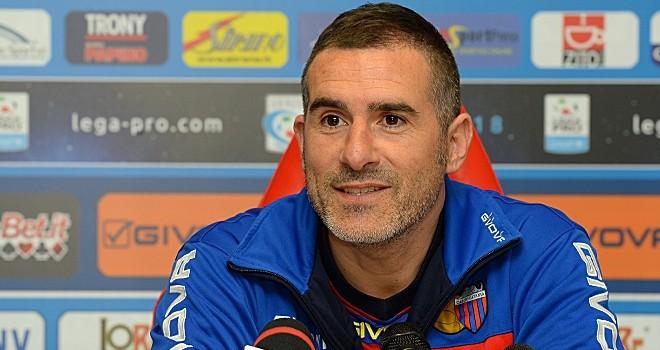 Catania - Trapani, gli allenatori: Calori ci crede, Lucarelli si arrende