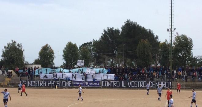 Spartak Ruffano-Bagnolo: trasferta vietata ai tifosi ospiti