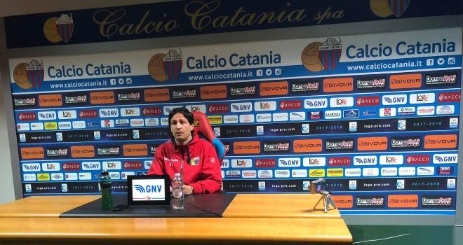 """Catania, Biagianti:""""Fischi giusti! Ma dobbiamo subito reagire!"""""""