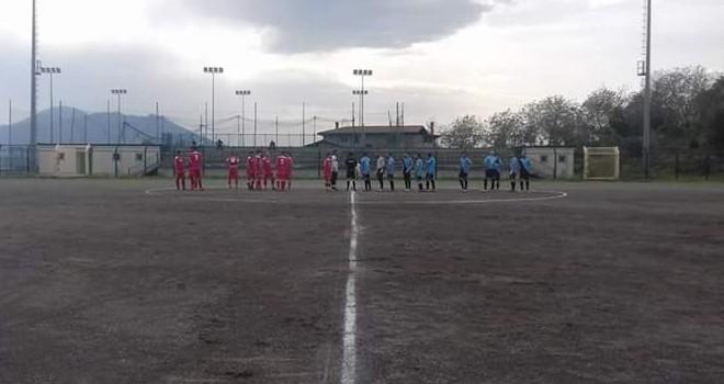 Intercampania beffato dallo Sporting Domicella: rimonta nel finale